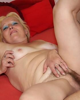 Granny vagina & young dick
